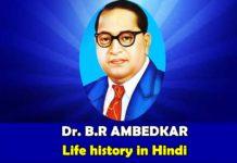 Bhimrao Ambedkar Life History in Hindi