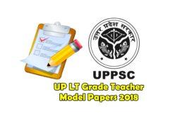 UP LT Grade Teacher Model Papers 2018